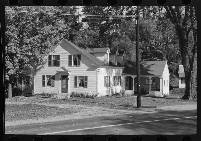 17.  A house in Bradford in 1939.