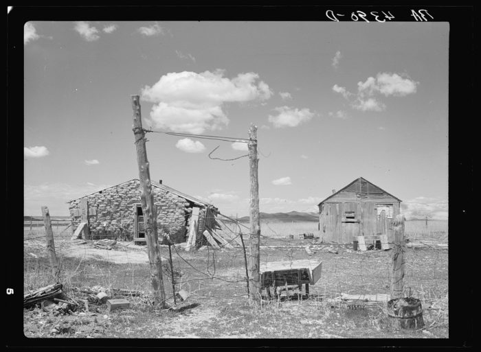 6. Another sod house in the same county, 1936