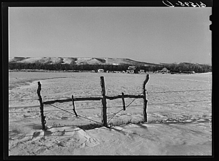 "9. ""Farm in Mellette County, South Dakota,"" 1940"