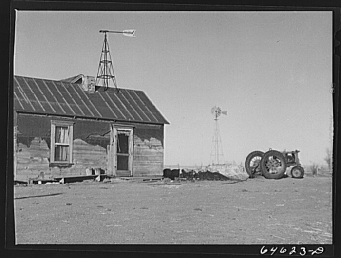 "1. ""Wheat farm. Clark County, South Dakota,"" 1942"
