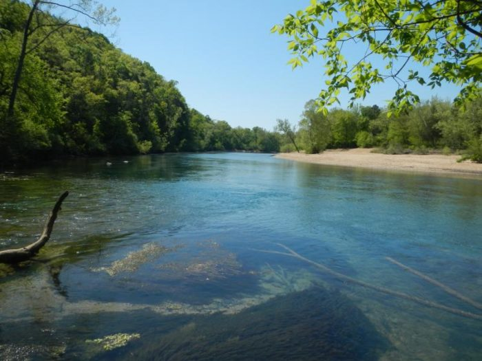 8. Current River Section of the Ozark Trail