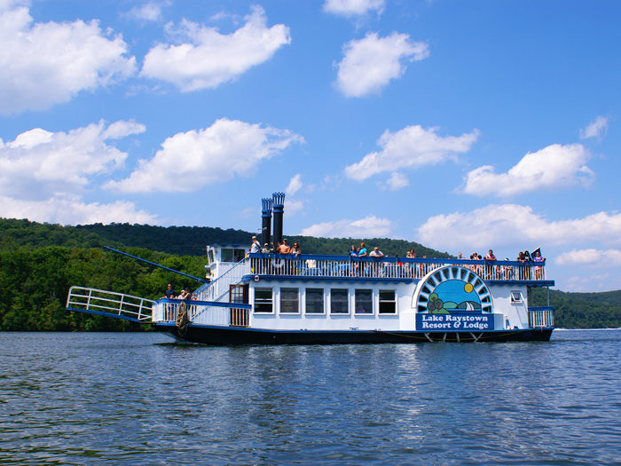 Climb aboard the Proud Mary Showboat for sightseeing, brunch, or a dinner cruise.