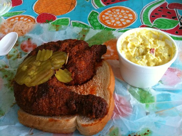 9. Burned their mouths on hot chicken.