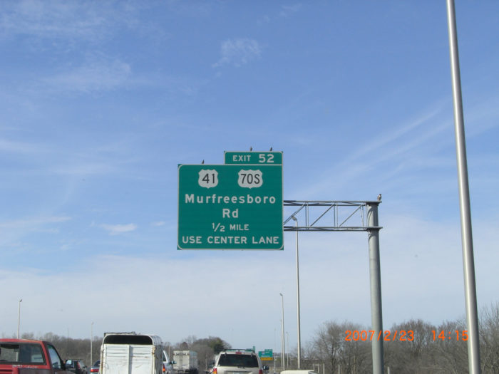 9. Go to Murfreesboro unless absolutely necessary.