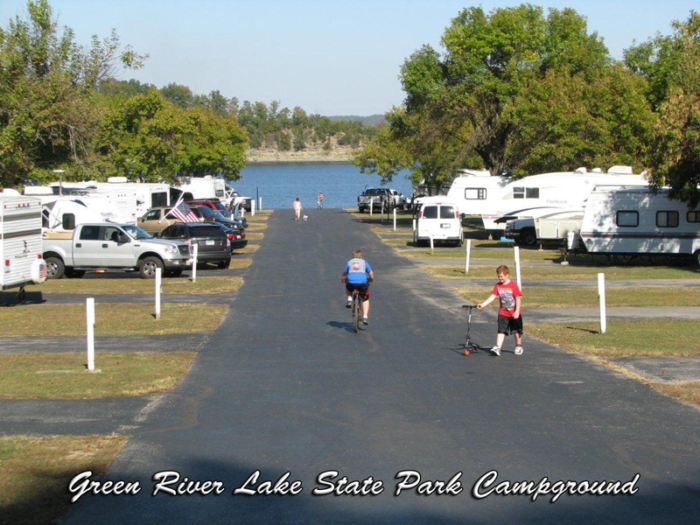 2. Green River Lake RV Campground