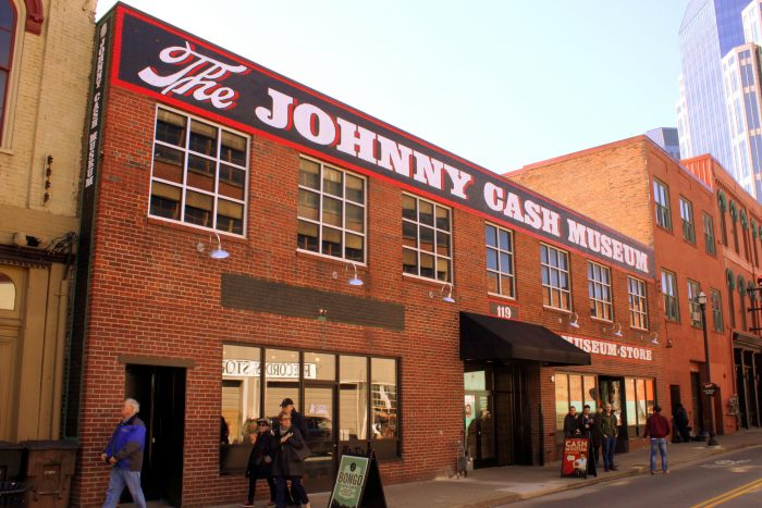9. Pay tribute to your favorite Man in Black at the Johnny Cash Museum.