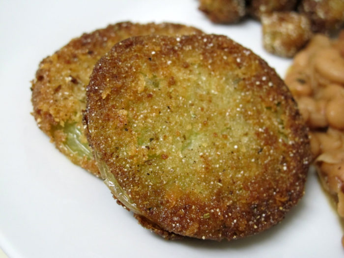 4.	...and you still use your grandmother's fried green tomato recipe.