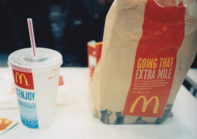 13. Most people assume we eat your typical comfort food from big fast food chains.