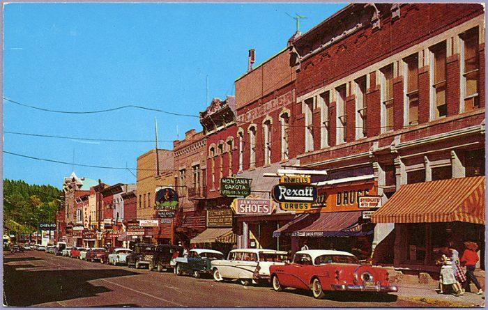 6. Downtown Deadwood, 1959