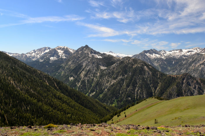 There are many beautiful hiking trails in the area that will lead you through the dramatic, breathtaking Wallowas.