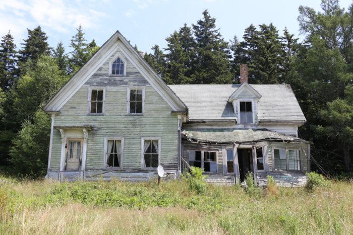12. Abandoned House, Maine
