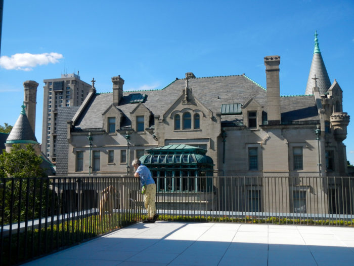 The mansion was donated in 1929, and with the additional building created in 2012 is now the American Swedish Institute.