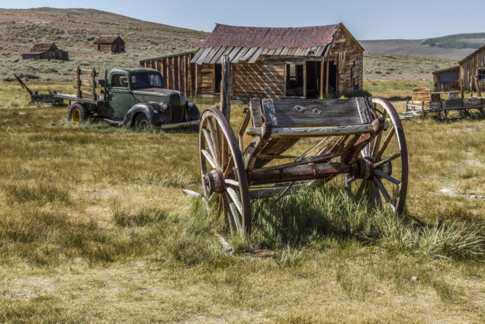 But the curse isn't the only paranormal activity going on at Bodie. It's haunted, too.