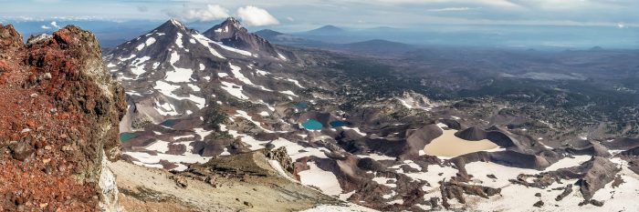 5. Hike to the top of South Sister.