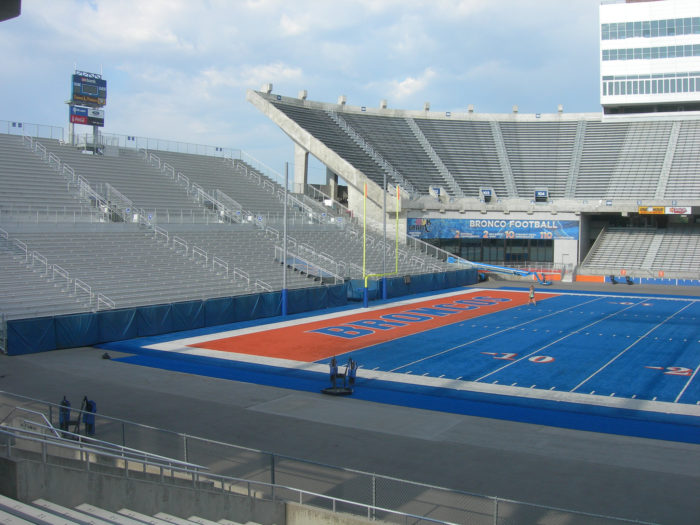 1. We are the ORIGINAL home of the blue turf.
