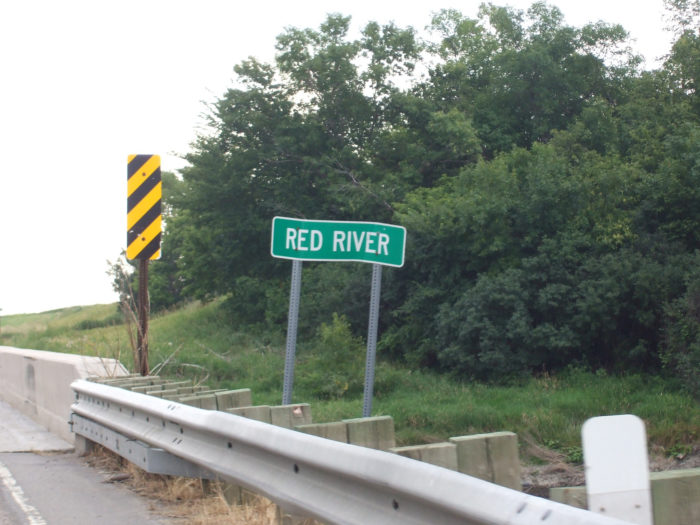 5. It is illegal to swim naked in the Red River from 8AM to 8PM.