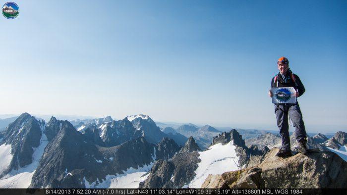8. Hike the highest peak in Wyoming... Gannett Peak.
