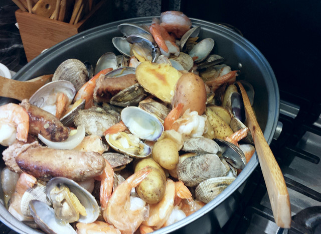 11. All other types of seafood, especially involving quahogs, will also become a regular part of your diet.