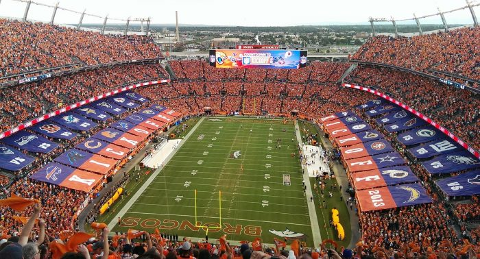 10. Sports Authority Field at Mile High Stadium...