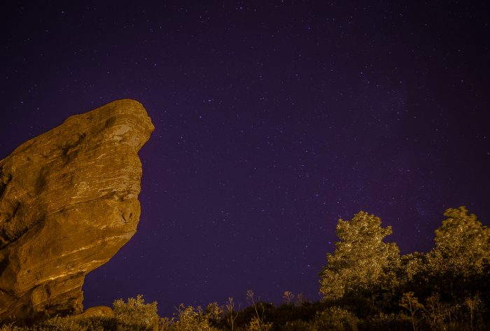 15. And when the clouds part (and you're at the rare natural wonder that is Red Rocks), you can see every star in the sky.