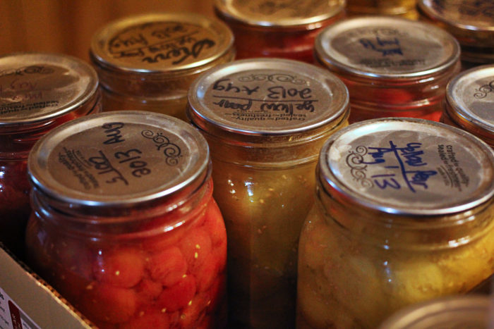 11. Because canning is a lot of work, and it makes your kitchen hot, but it's also a glorious tradition.