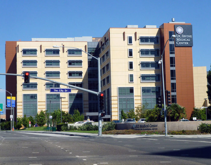 7. University of California Irvine Medical Center -- Orange County