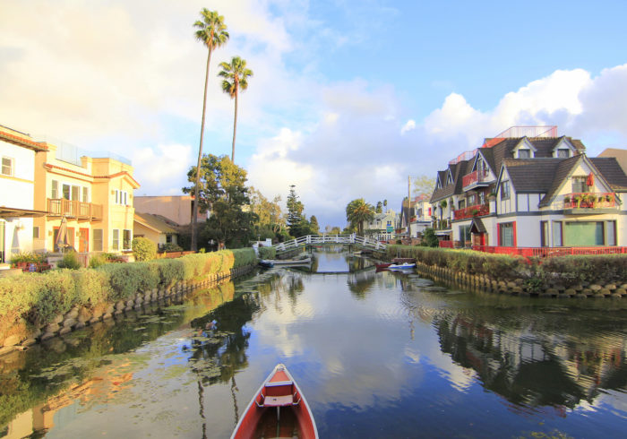 The Venice Canal District was eventually restored back in the '90s.