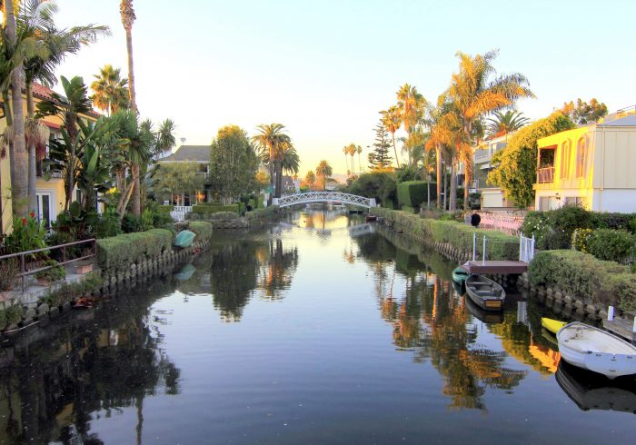 14. The Venice Canals -- a little slice of Italy right here in SoCal.