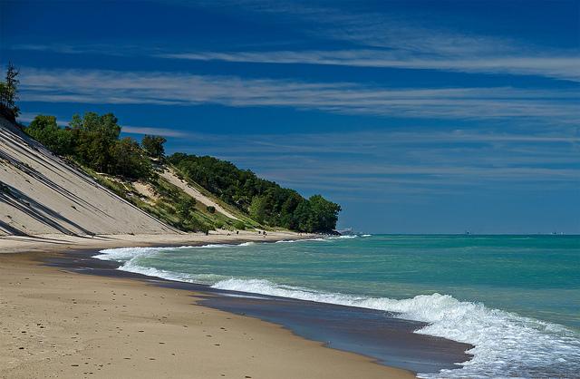 5. You've almost forgotten the Dunes aren't a true beach.