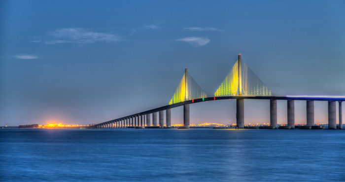 The beauty of the bridge is undeniable.
