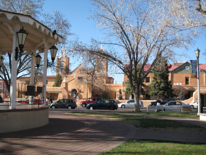 4. Old Town Plaza
