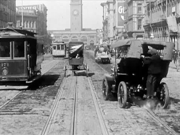 1. Market Street: 1906 (Before the Earthquake) & Now