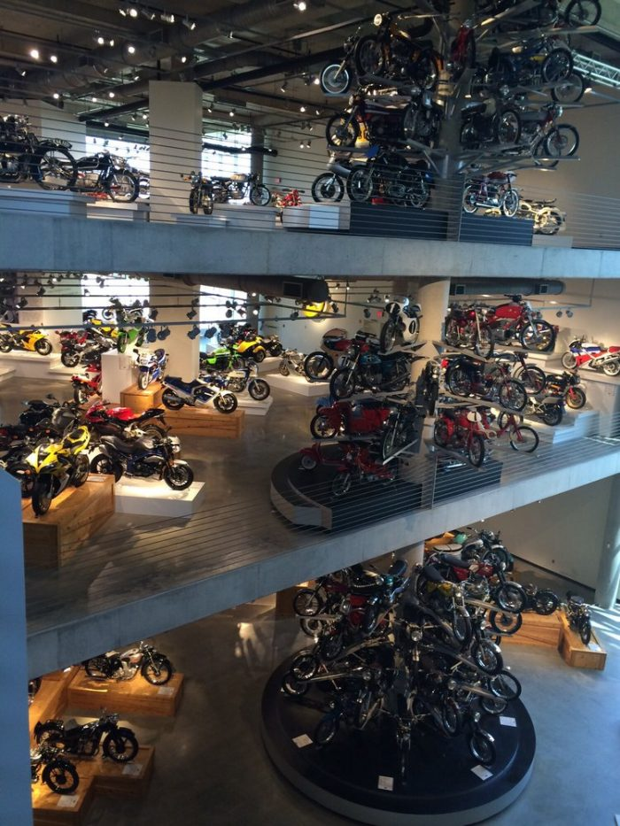 2. World's Largest Motorcycle Collection