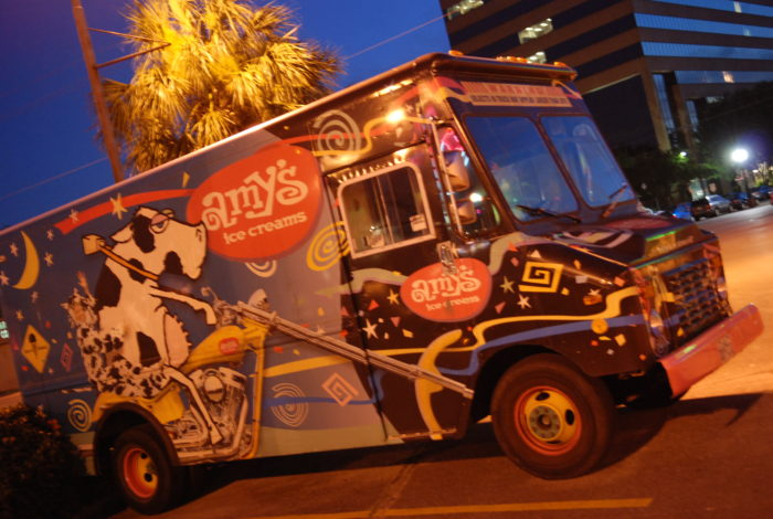 They have the most exciting ice cream truck in the business.