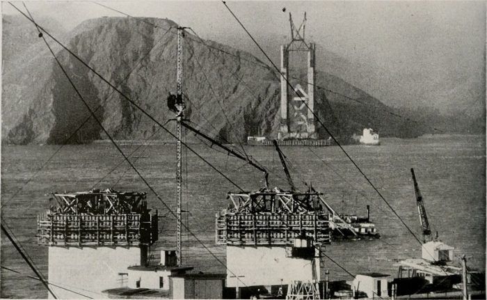12. Construction of the Golden Gate Bridge: 1933 & Now