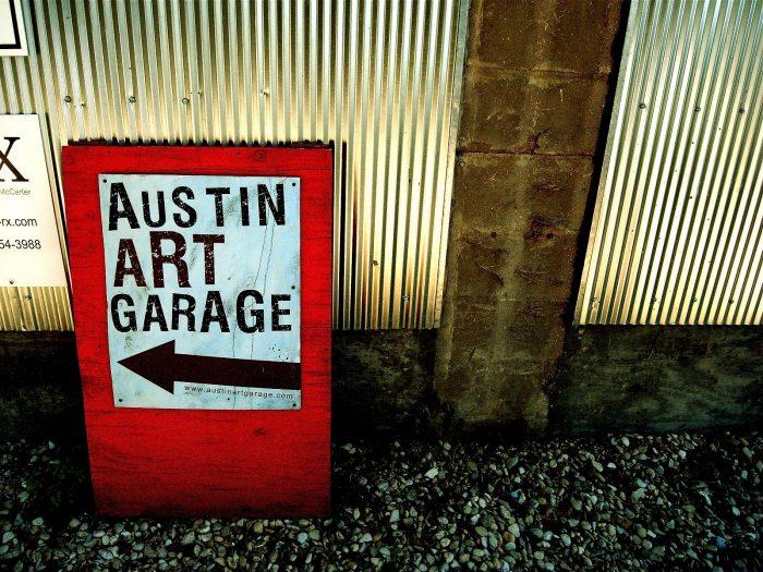 7. Austin Art Garage