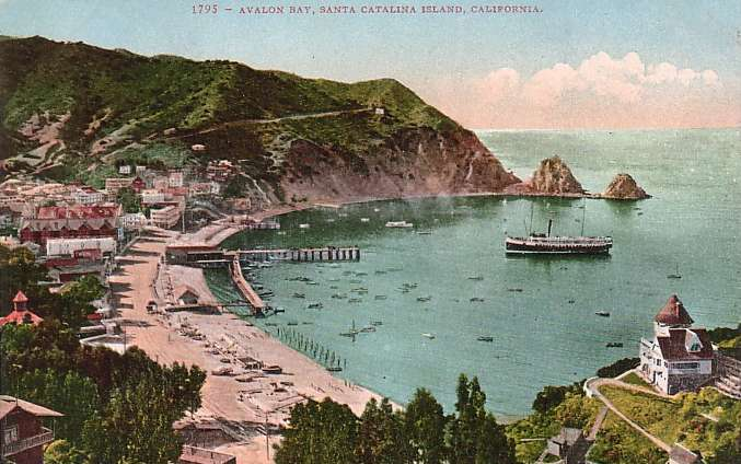 5. Catalina Island -- then and now