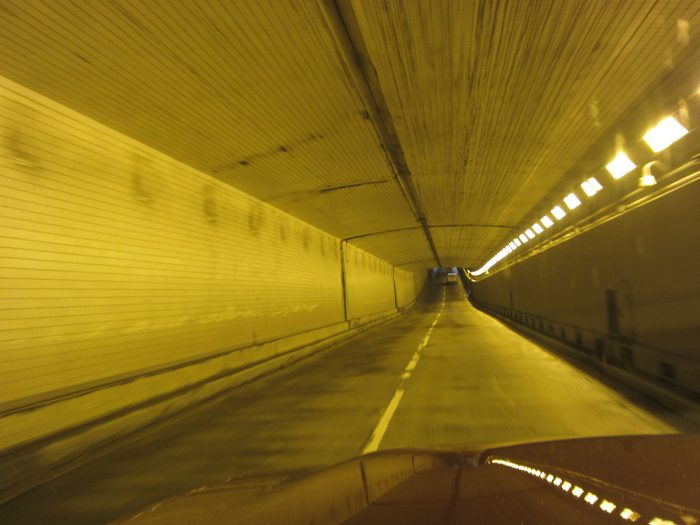 In 1956, the tunnel was the first underwater tunnel that did not require any operating personnel.