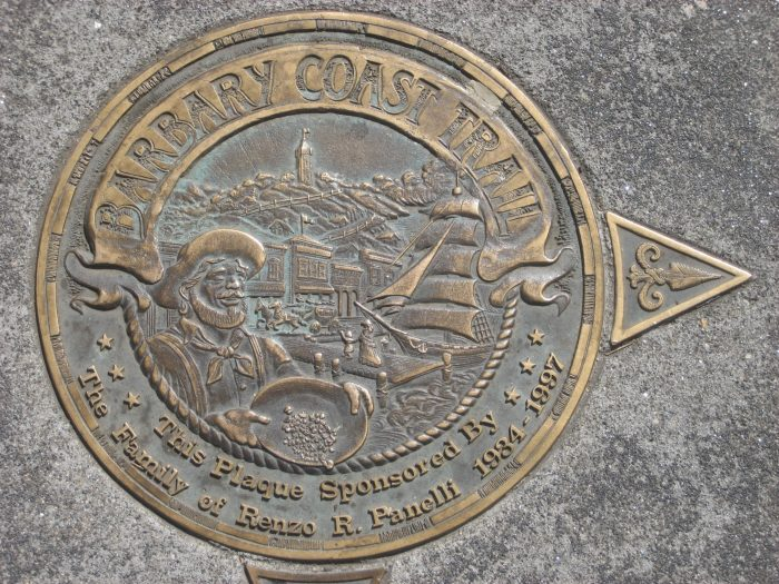 11. Walk the Barbary Coast Trail, which passes through the birthplace of the Gold Rush and other (in)famous historical sites.