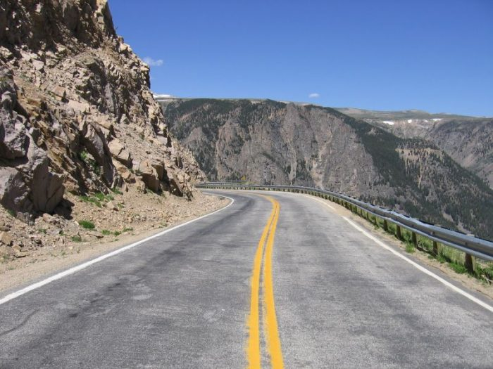 7. The Beartooth Highway