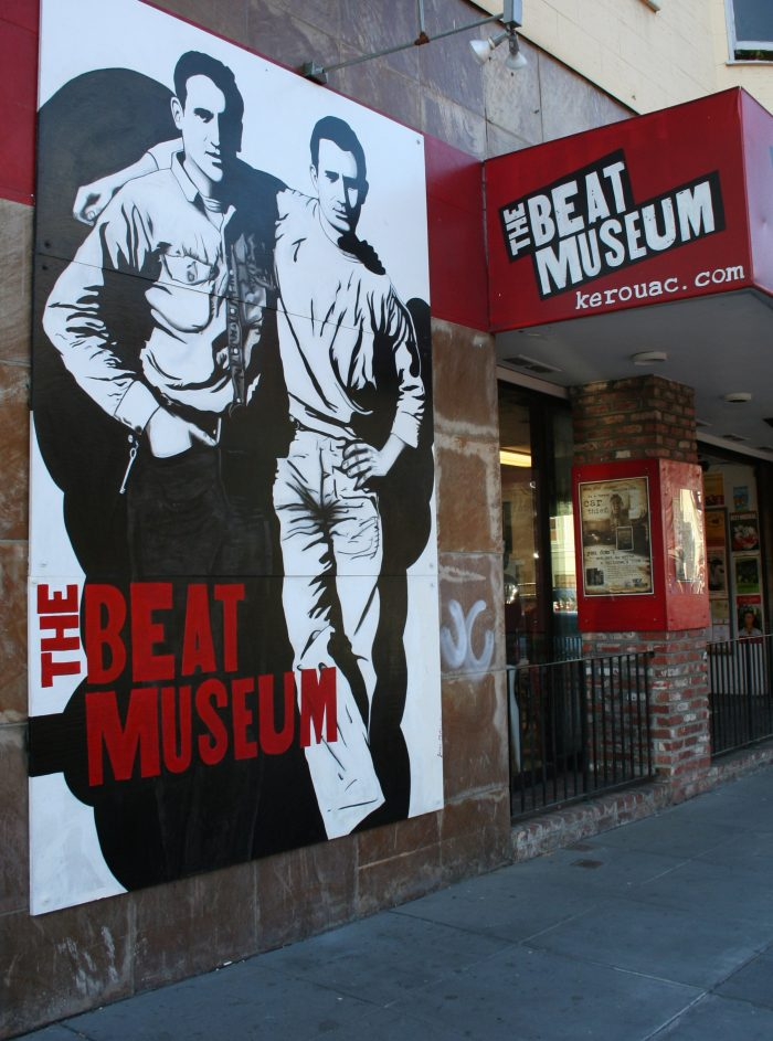 Jerry Cimino founded the Beat Museum in 2003 at 540 Broadway—near historical Beat hangouts—to honor the generation's legacy and influence on the city of San Francisco.