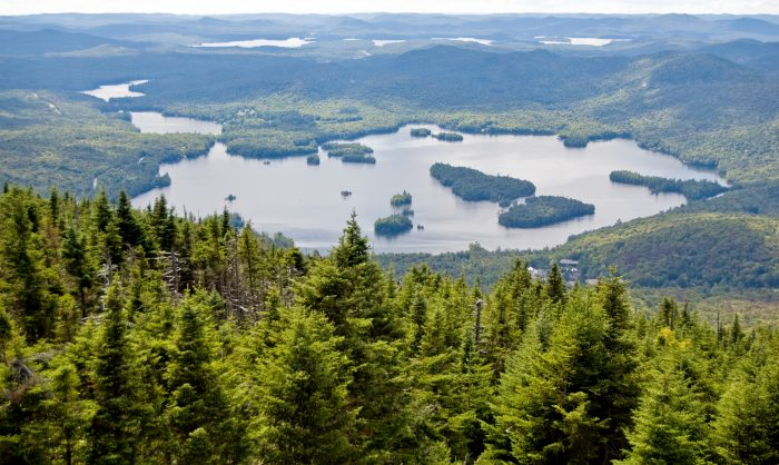 7. Thousands of lakes and ponds can be found within the Adirondack Park, that's right...thousands.