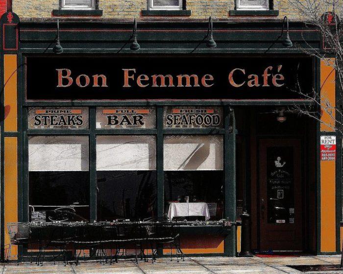 2. Bon Femme Cafe - Valparaiso