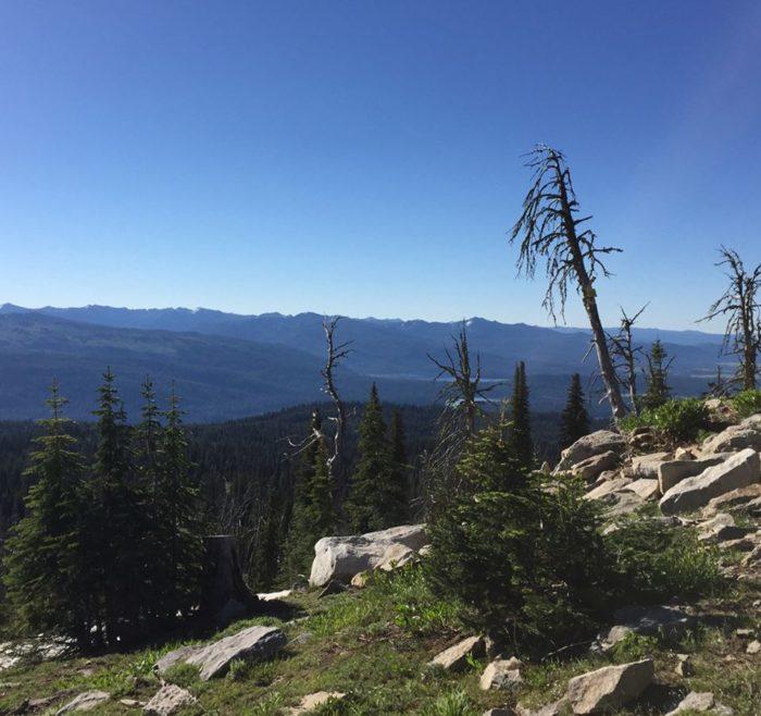 10. Brundage Mountain Peak, McCall