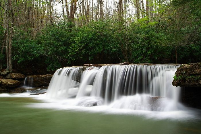 3. Campbell Falls, Camp Creek State Park