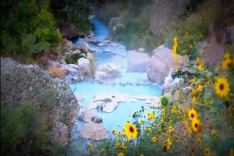 1. Fifth Water Hot Springs, Diamond Fork