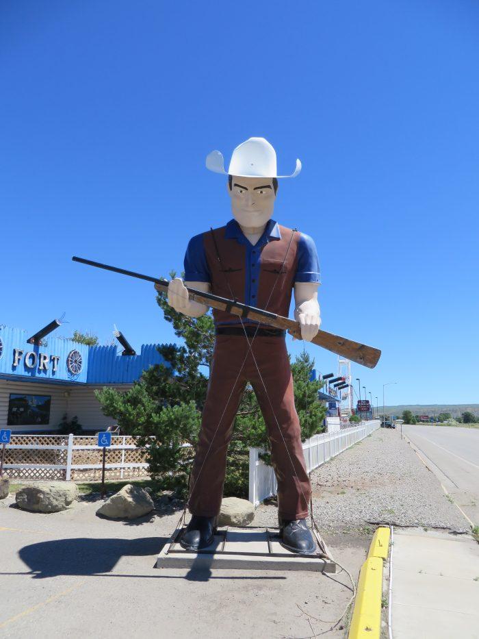 10. The Cowboy Muffler Man in Rockvale