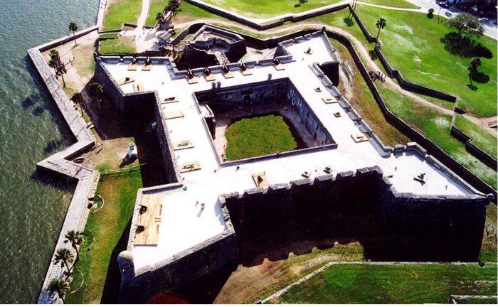 1. Castillo de San Marcos (St. Augustine)