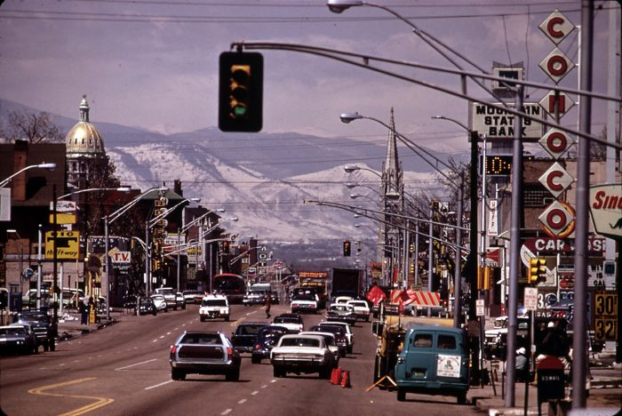 """5. We're home to the notorious Colfax Avenue, the longest continuous commercial street in the nation, and what Playboy Magazine dubbed, the """"longest, wickedest street in America."""""""