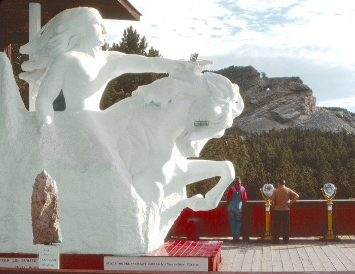 1. Crazy Horse Memorial, 1979
